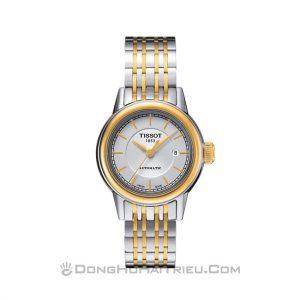 Đồng hồ Tissot T085.207.22.011.00 kết hợp mạ vàng sang trọng