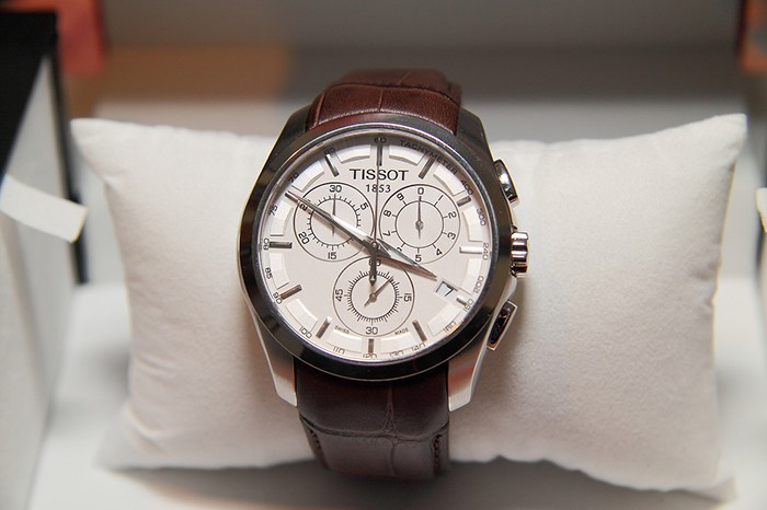 3 Đồng Hồ Tissot Couturier Chronograph Sapphire Crystal Mens Watch