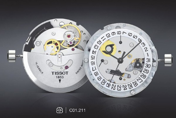 4 Đồng Hồ Tissot Couturier Chronograph Sapphire Crystal Mens Watch