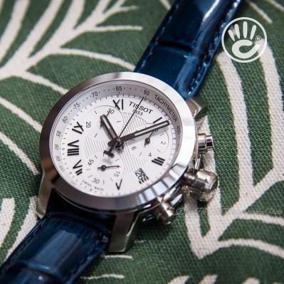 Đồng hồ Thụy Sỹ nữ dây da Tissot T055.217.16.033.00 quyến rũ
