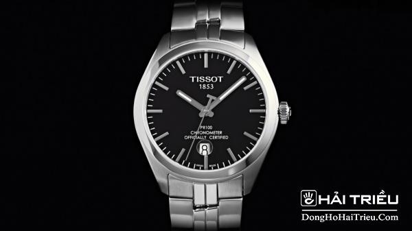 Tissot Pr100 của thương hiệu đến từ Thụy sỹ được lấy cảm hứng từ dòng đồng hồ Tissot Pr50
