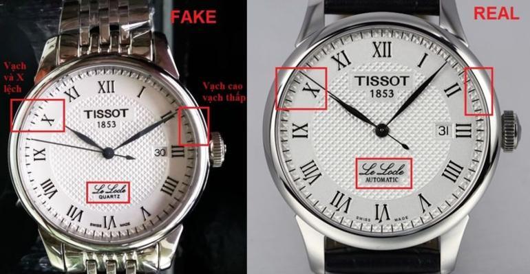 Đồng Hồ Tissot Replica - Có Thật Sự Xứng Đáng Nên Mua?-Nhận diện chiếc đồng hồ Tissot Replica - Tissot Chính hãng
